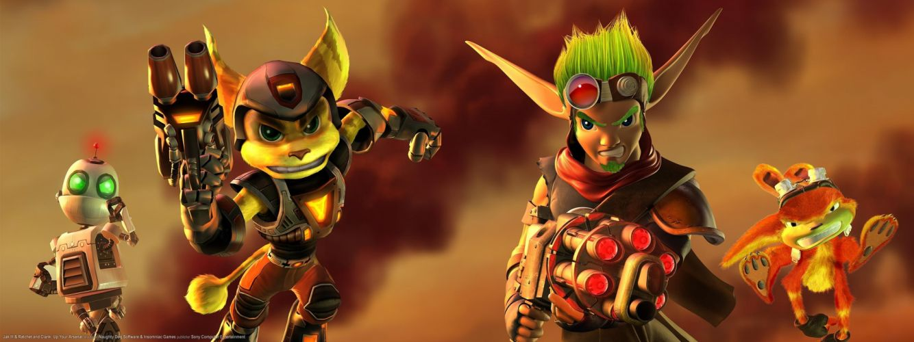 ratchet and clank insomnia naughty dog jak daxter wallpaper