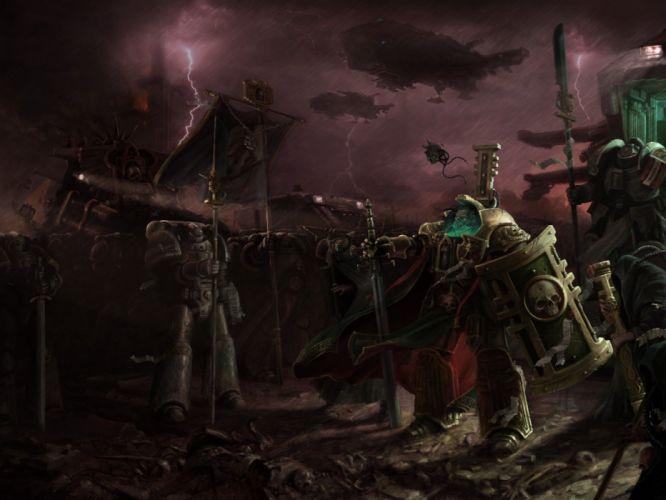 space marines inquisition warhammer warriors warrior wallpaper