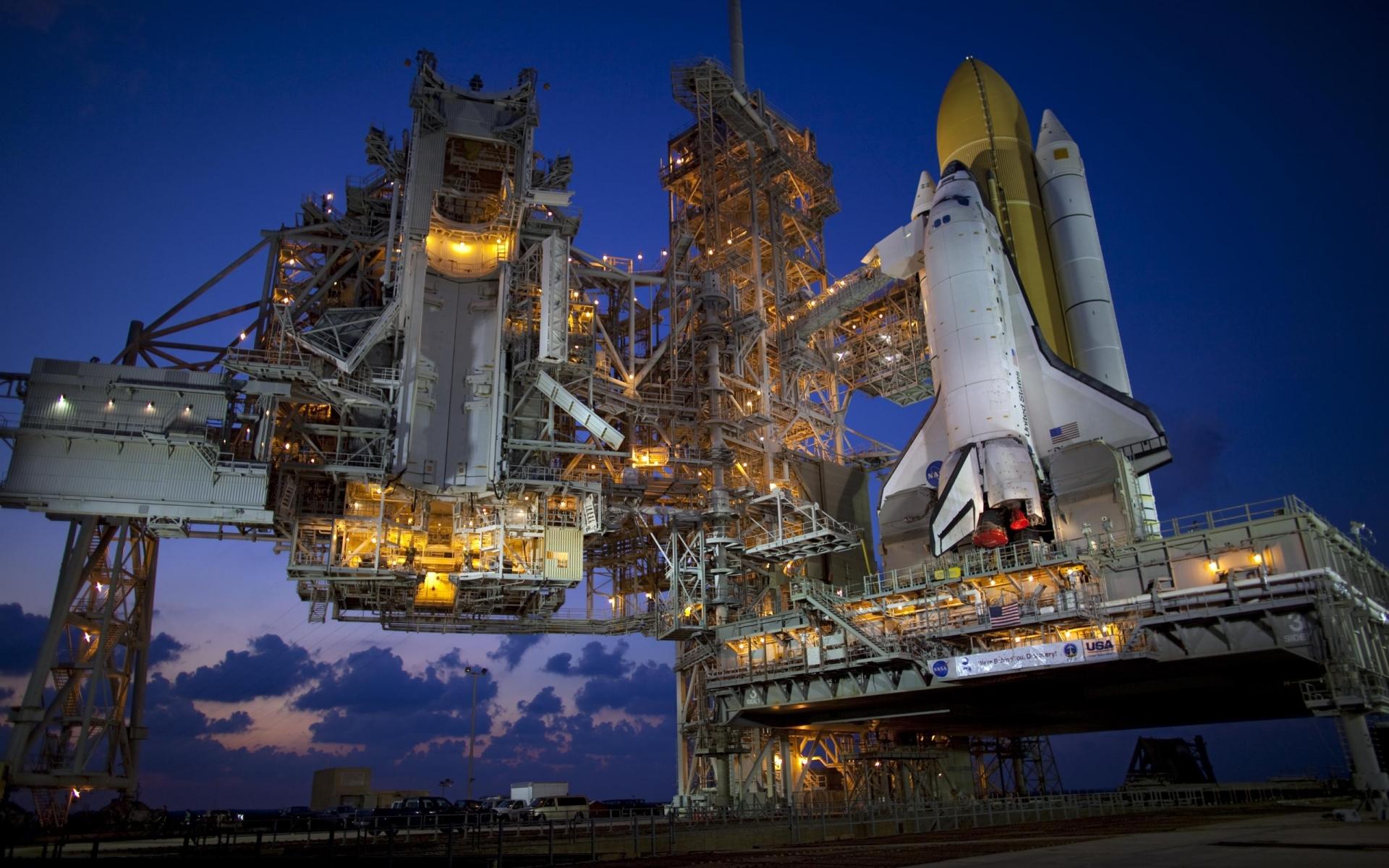 Space Shuttle Industry Nasa Wallpaper