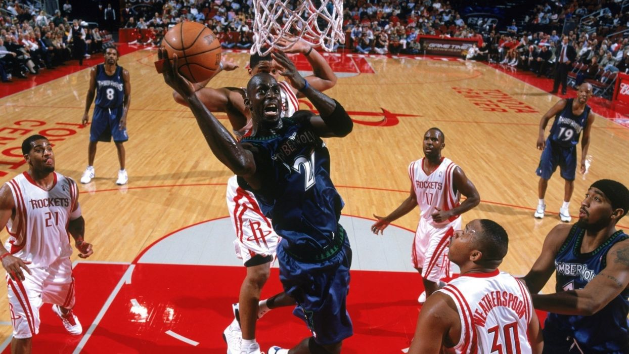 sports match nba basketball minnesota timberwolves houston rockets wallpaper