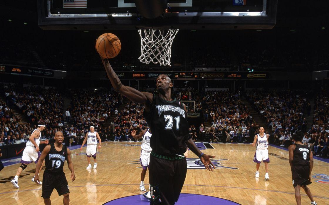 sports nba basketball kevin garnett minnesota timberwolves sacramento kings wallpaper