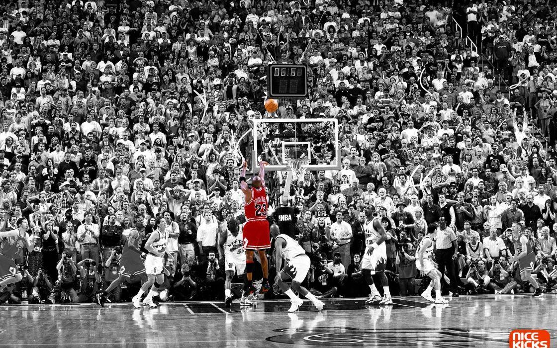 sports nba basketball michael jordan selective coloring chicago bulls wallpaper