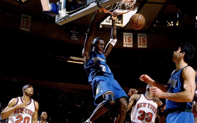 sports nba basketball minnesota timberwolves new york knicks wallpaper