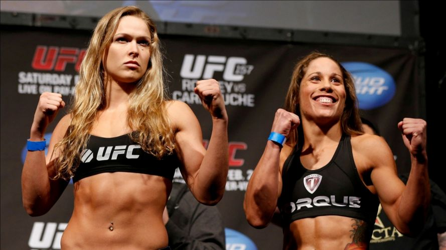 UFC mixed martial arts mma fight extreme girl girls fitness wallpaper
