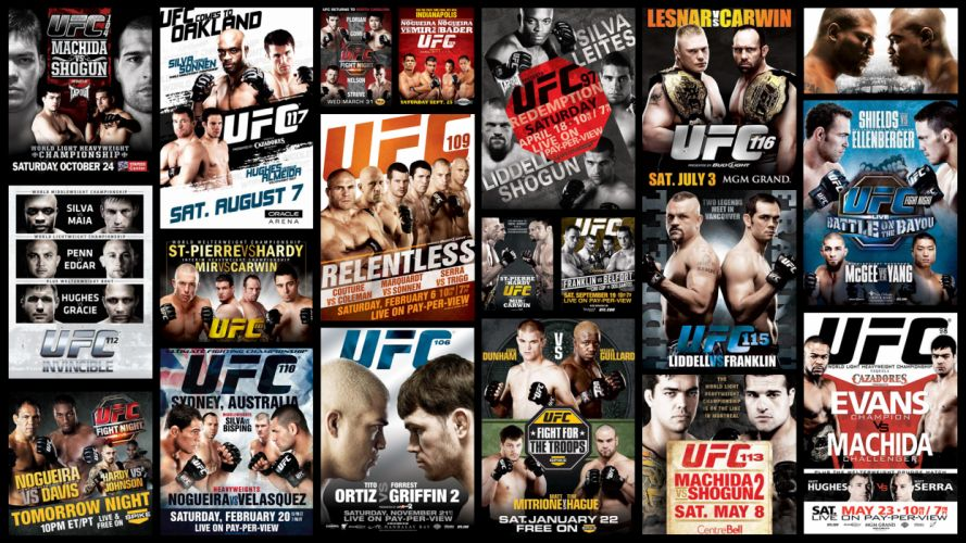 UFC mixed martial arts mma fight extreme poster posters c wallpaper