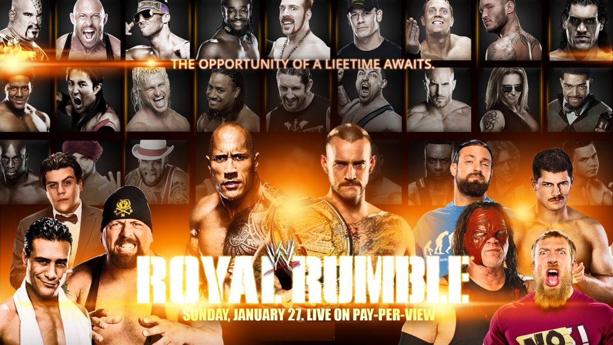 WWE Royal Rumble wrestling poster posters     d wallpaper