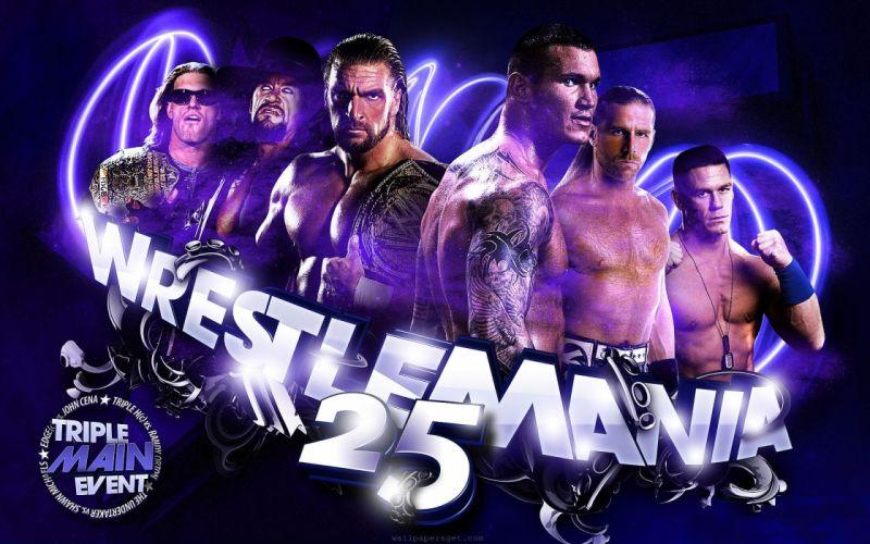 WWE Wrestlemania wrestling wrestle poster posters e wallpaper