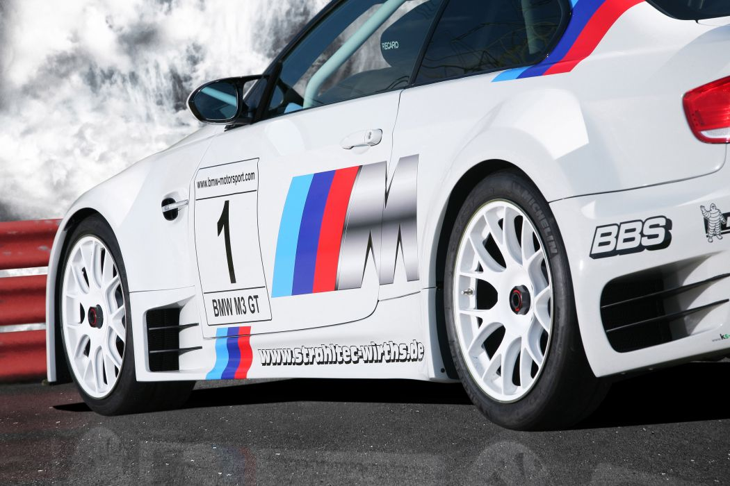 2011 CLP BMW M-3 G-T race racing wheel wheels  q wallpaper