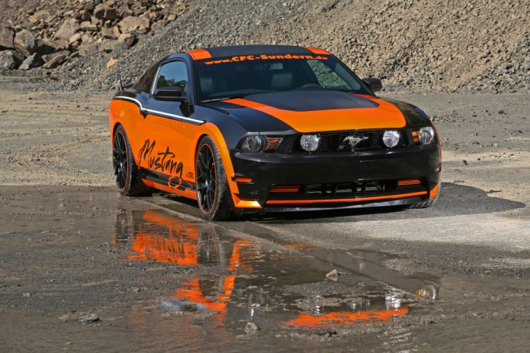2011 Design-World Ford Mustang tuning muscle wallpaper