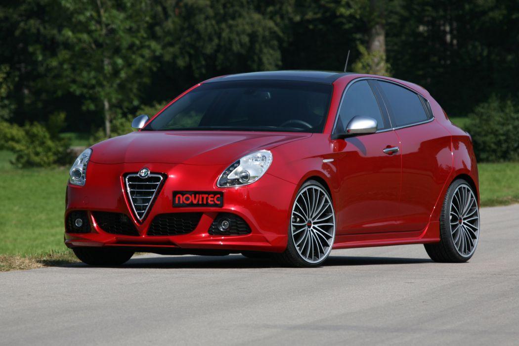 2011 NOVITEC Alfa Romeo Giulietta tuning q wallpaper