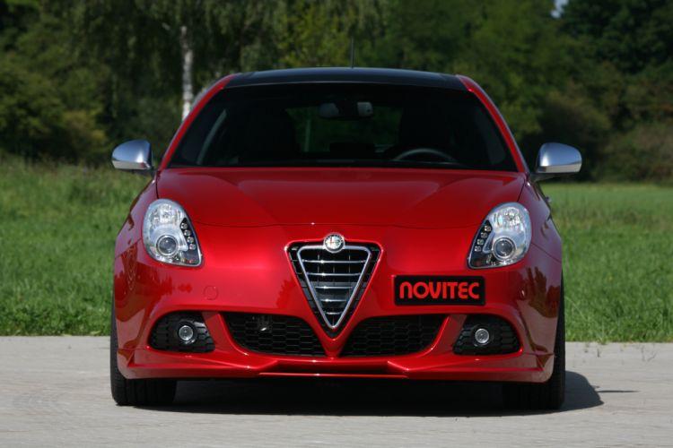2011 NOVITEC Alfa Romeo Giulietta tuning wallpaper