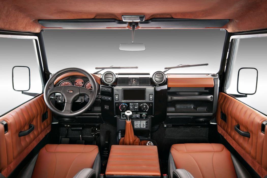 2011 Vilner Land Rover Defender offroad 4x4 suv interior wallpaper