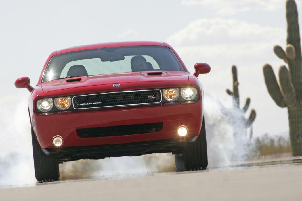 2009 Dodge Challenger muscle wallpaper