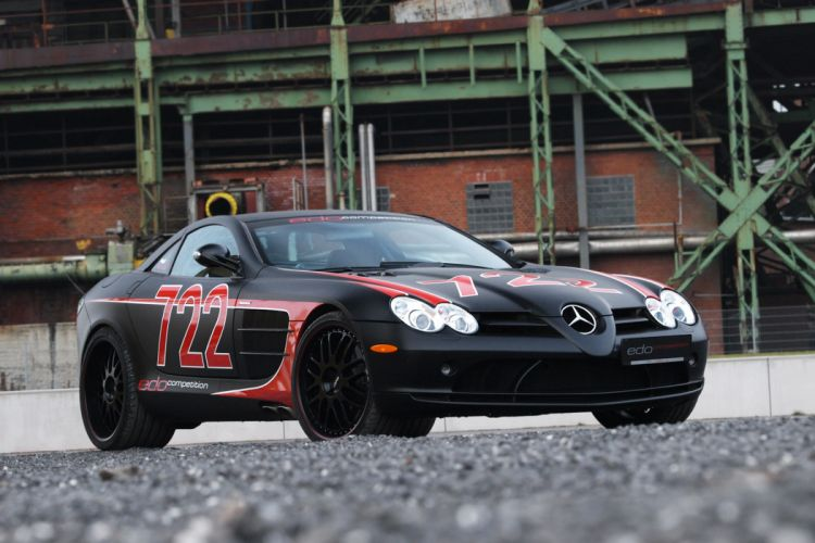 2011 edo-competition Mercedes Benz SLR tuning b wallpaper