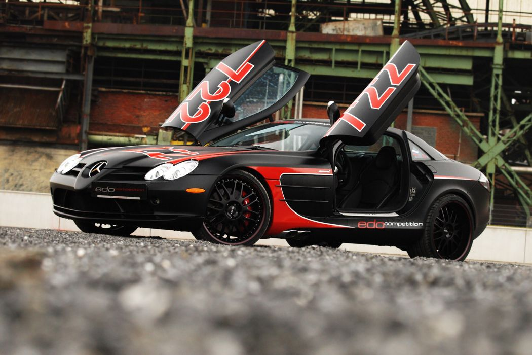 2011 edo-competition Mercedes Benz SLR tuning d wallpaper