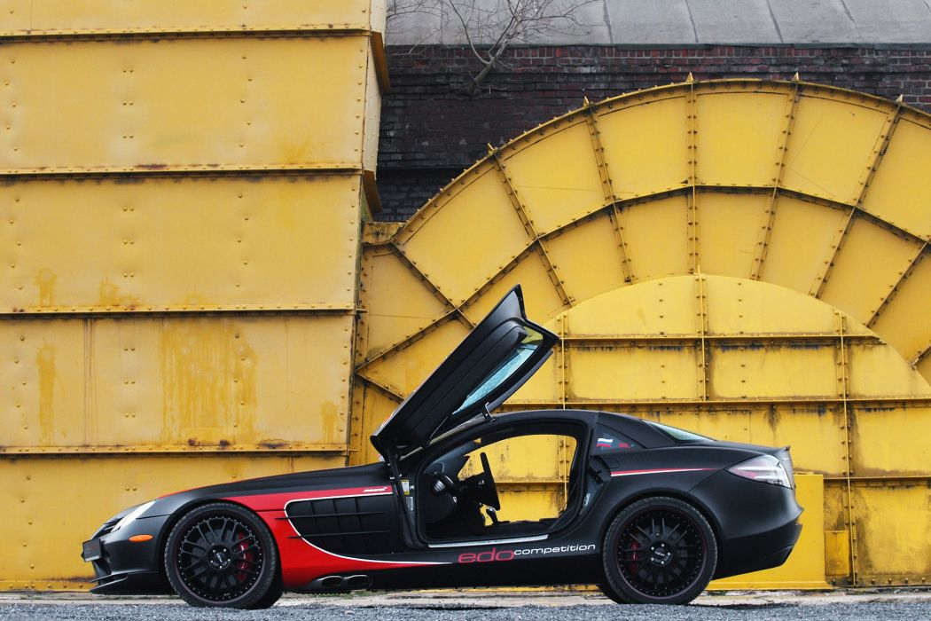 2011 edo-competition Mercedes Benz SLR tuning q wallpaper