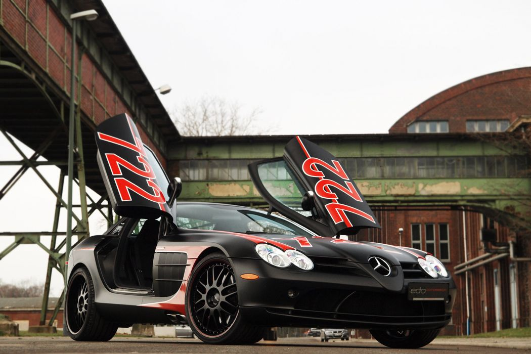 2011 edo-competition Mercedes Benz SLR tuning w wallpaper