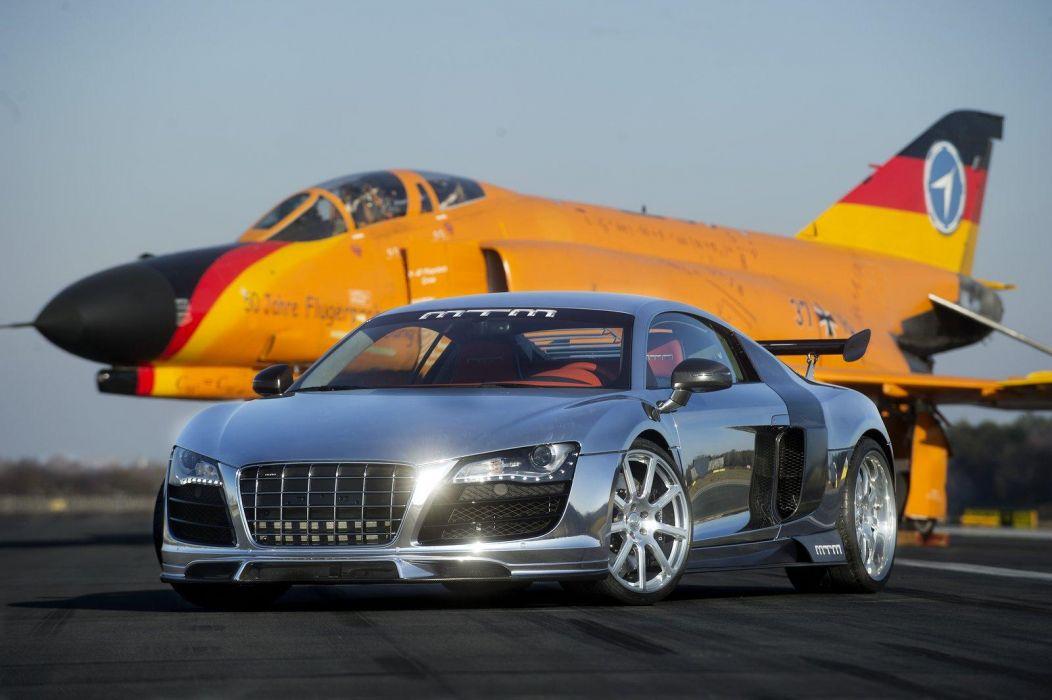 2011 MTM Audi R-8 V10 Biturbo supercar supercars tuning jet jets wallpaper
