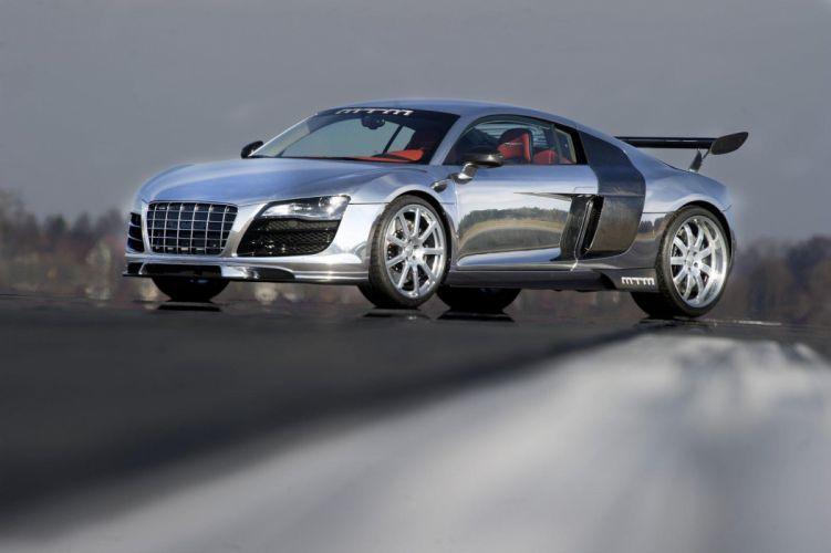 2011 MTM Audi R-8 V10 Biturbo supercar supercars tuning wallpaper
