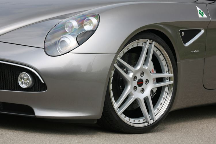 2011 NOVITEC Alfa Romeo 8-C Spider tuning wheel wheels wallpaper