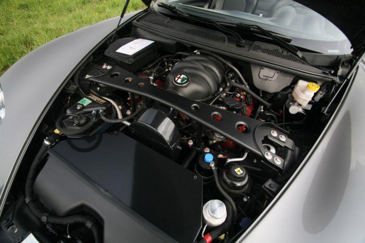 2011 NOVITEC Alfa Romeo 8-C Spider tuning engine engines wallpaper