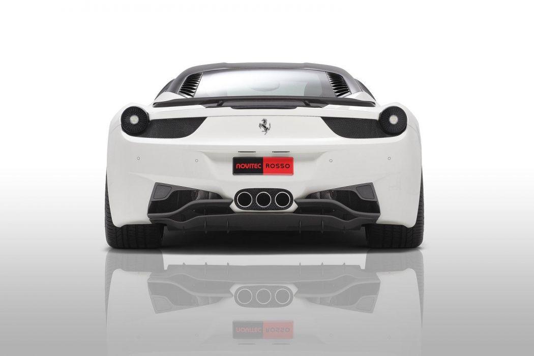 2011 Novitec-Rosso Ferrari 458 Italia supercar supercars g wallpaper