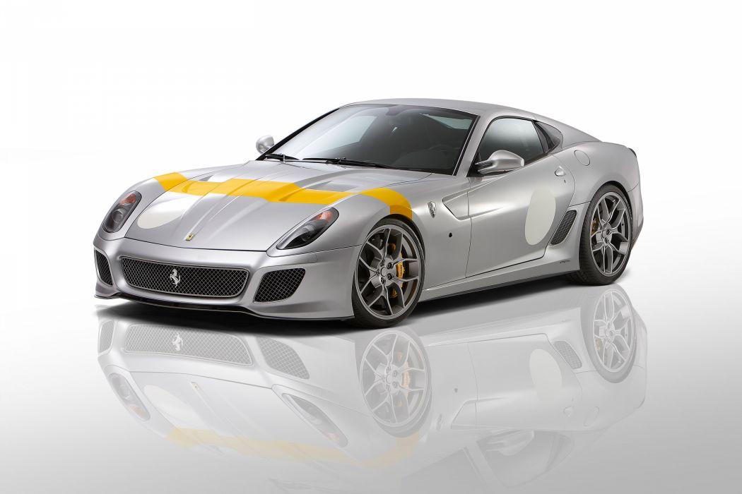 2011 Novitec-Rosso Ferrari 599 GTO 888 supercar supercars wallpaper