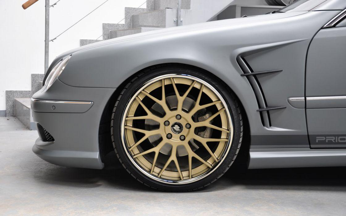2011 Prior-Design Mercedes Benz C-L W215 tuning wheel wheels wallpaper