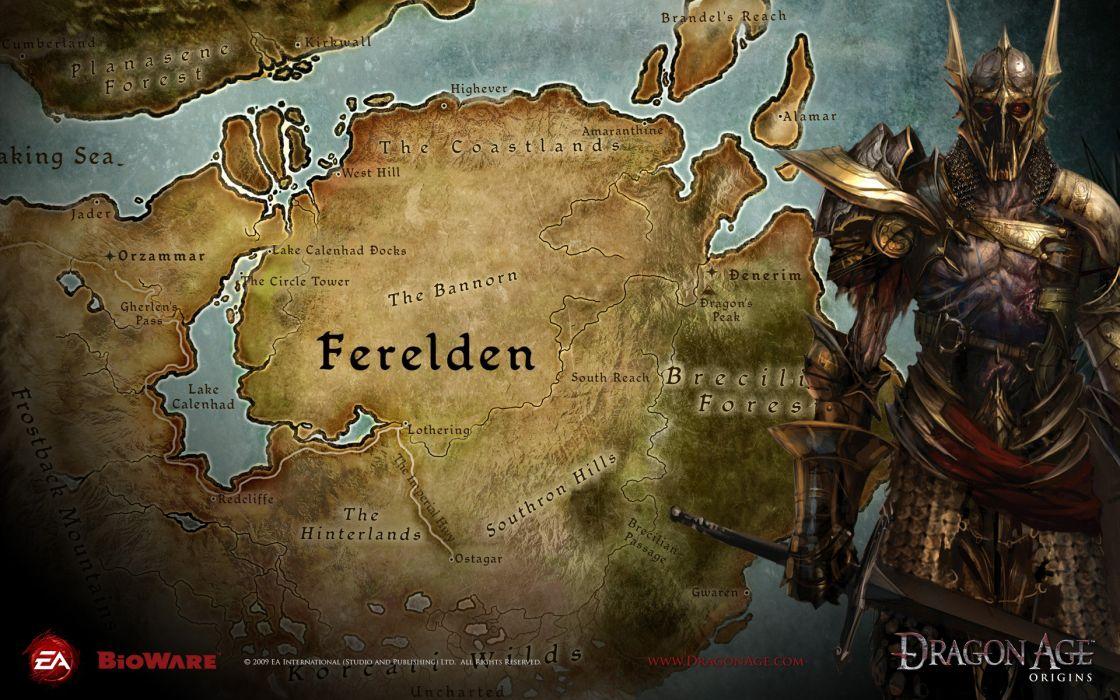 Dragon Age Map wallpaper | 1920x1200 | 85891 | WallpaperUP