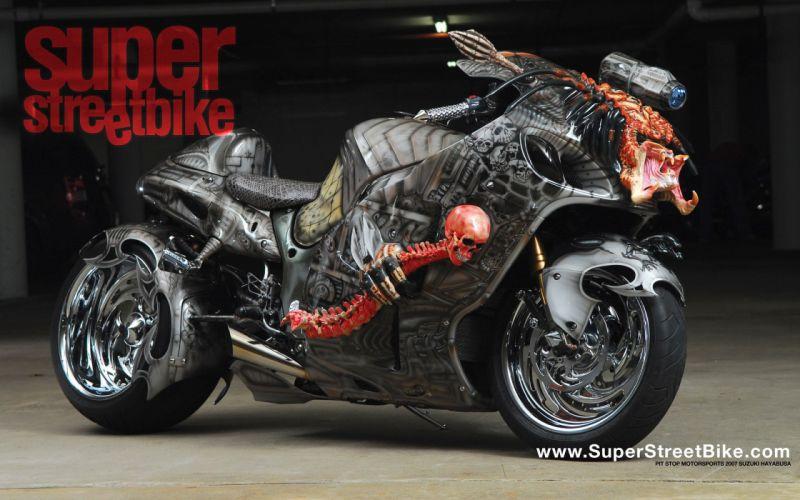 suzuki hayabusa sportbike superbike e wallpaper