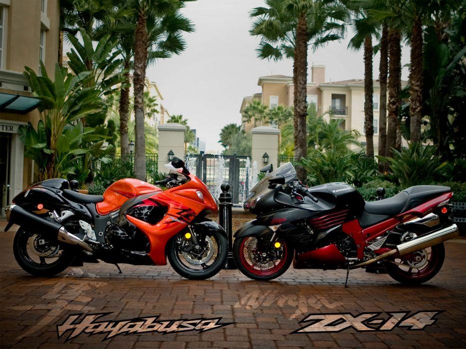 suzuki hayabusa sportbike superbike r wallpaper