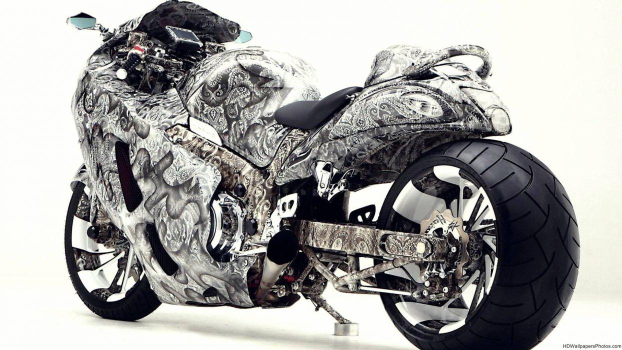 suzuki hayabusa sportbike superbike tuning   g wallpaper