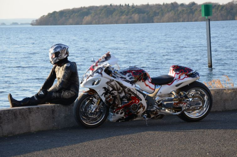 suzuki hayabusa sportbike superbike tuning l wallpaper