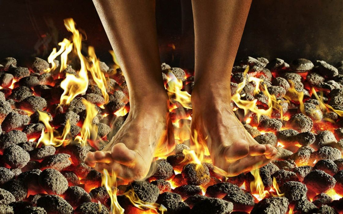 Fire-Feet-Fire-Dancing wallpaper