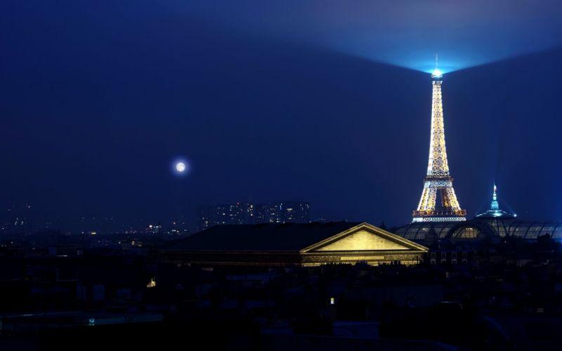 Eiffel-Tower-Night-Light wallpaper