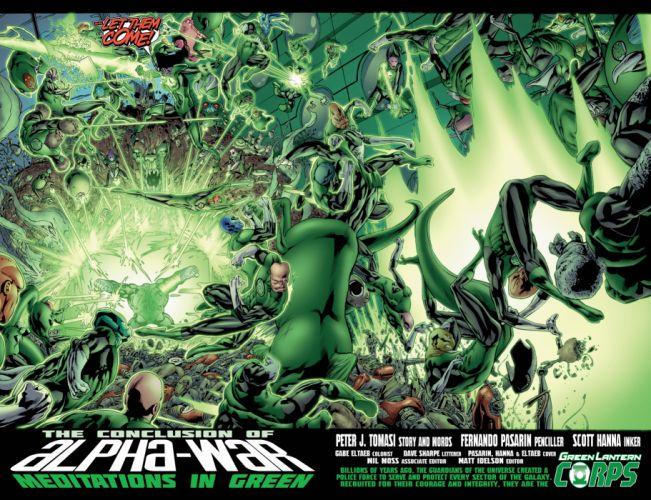 Green Lantern dc-comics superhero e wallpaper