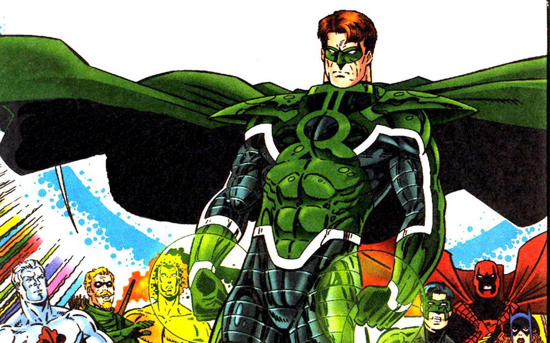 Green Lantern dc-comics superhero    d wallpaper