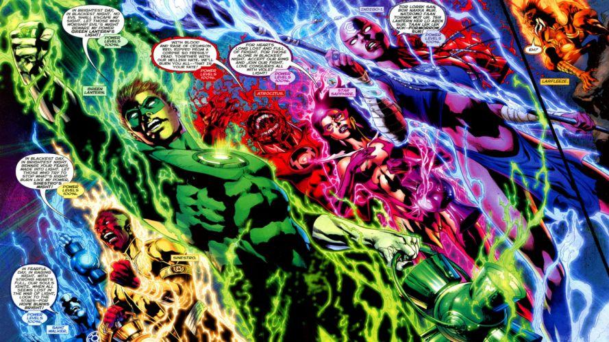 Green Lantern dc-comics superhero a wallpaper