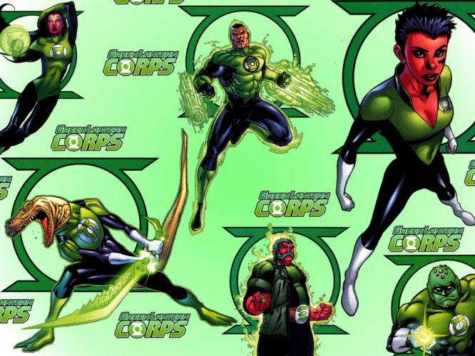 Green Lantern dc-comics superhero g wallpaper
