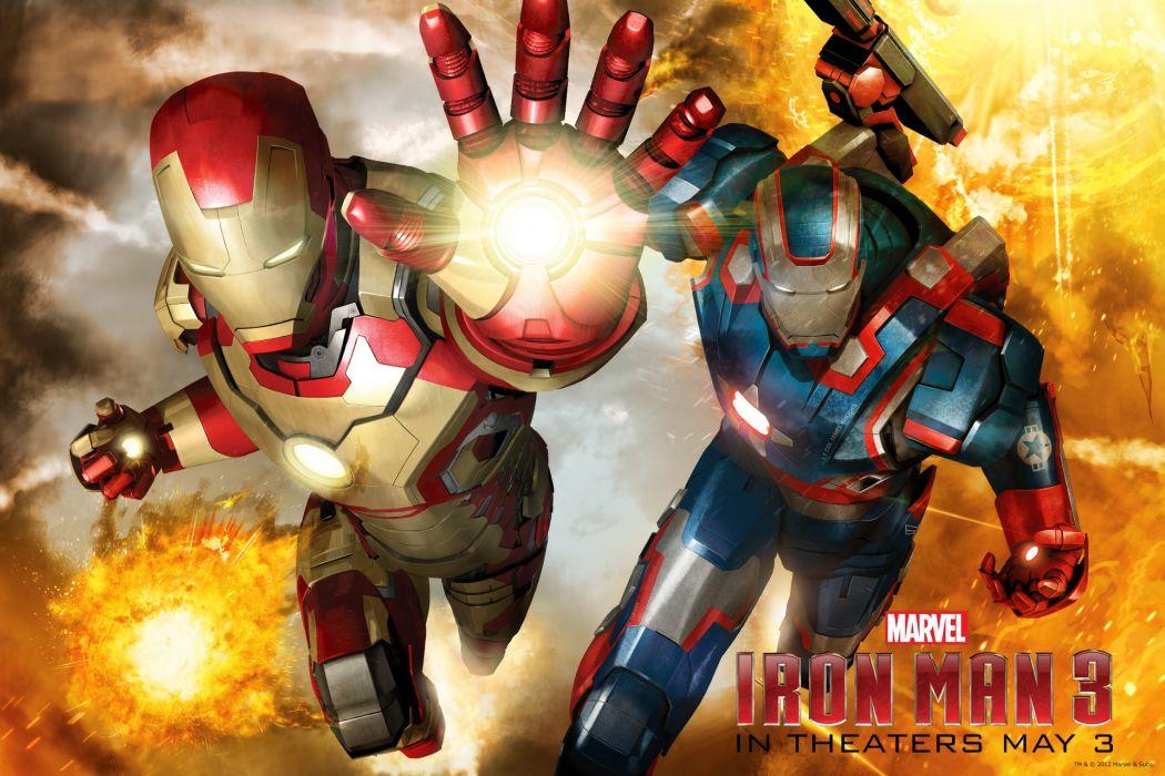 Iron Man 3 movies comics     f wallpaper