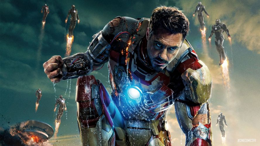Iron Man 3 movies comics h wallpaper