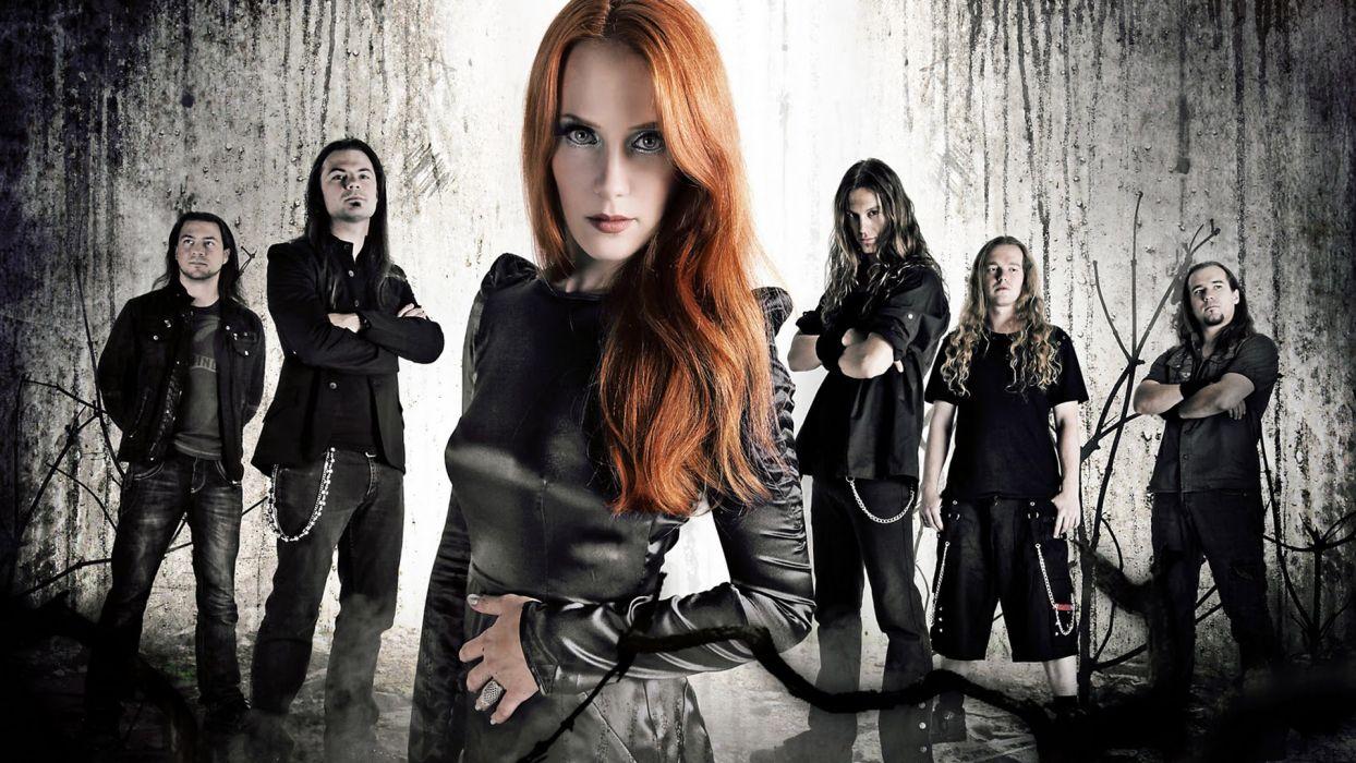 EPICA Simone Simons power metal heavy hard rock r wallpaper