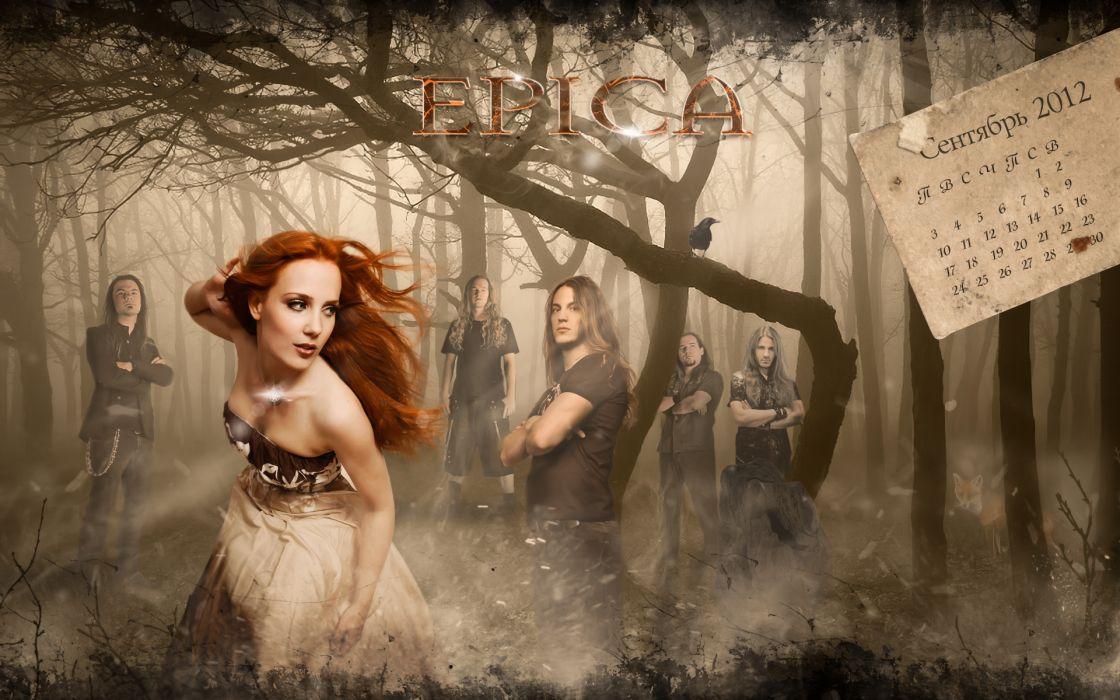 EPICA Simone Simons power metal heavy hard rock w wallpaper