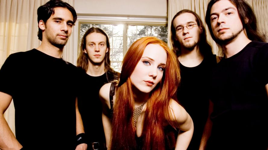 EPICA Simone Simons power metal heavy hard rock wallpaper