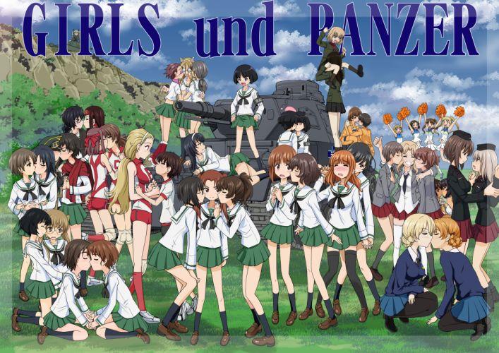 girls und panzer q wallpaper