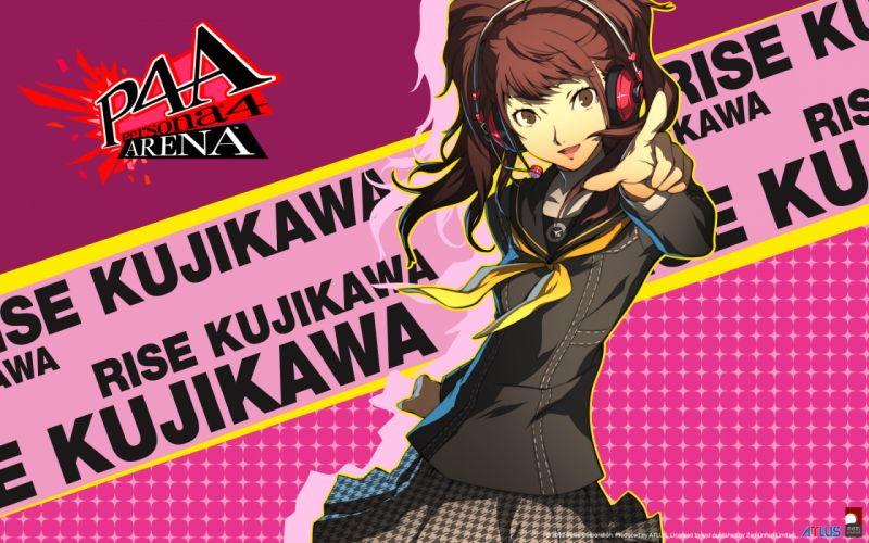kujikawa rise persona 4 wallpaper