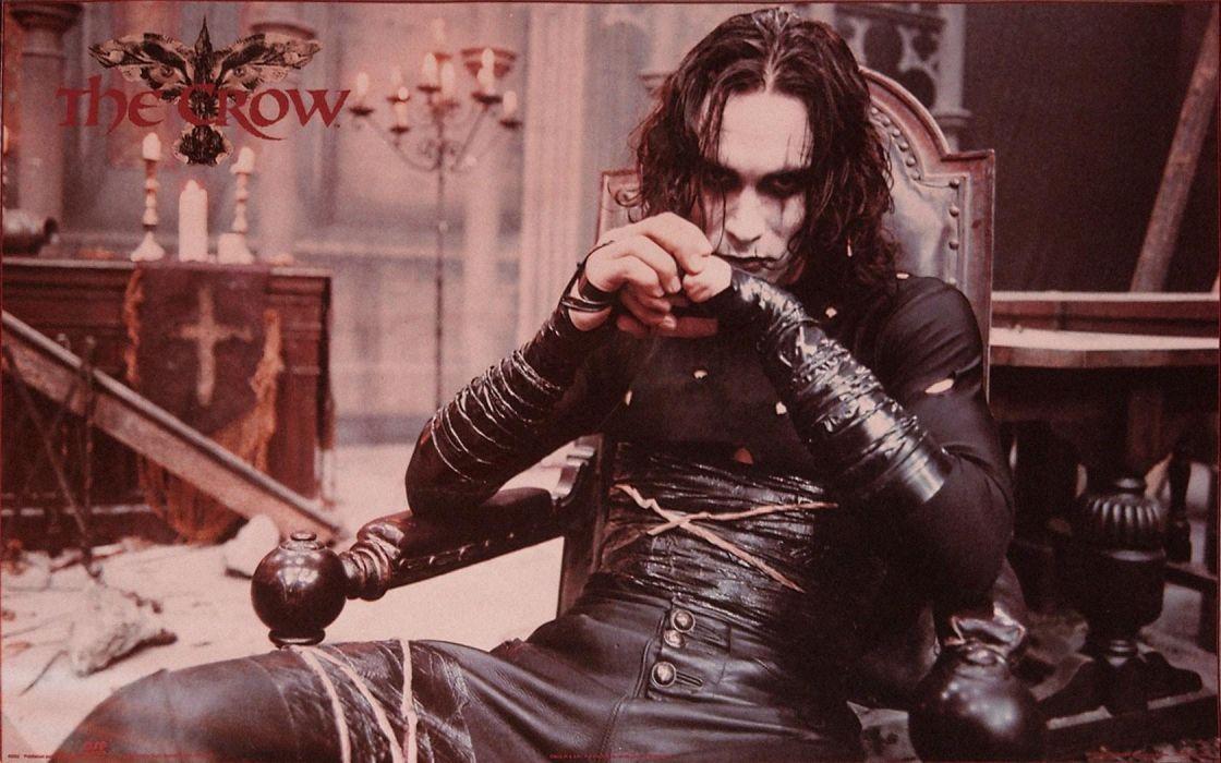 The-Crow crow dark comics movies wallpaper