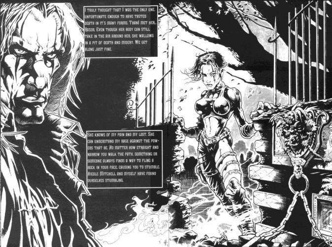 The-Crow crow dark comics movies d wallpaper