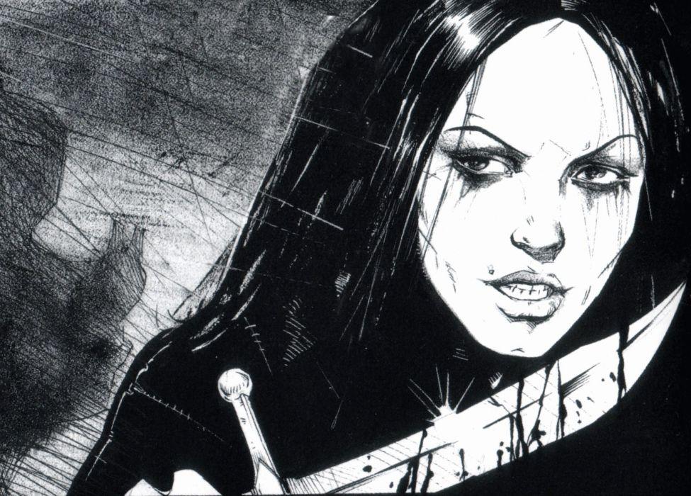The-Crow crow dark comics movies  f wallpaper