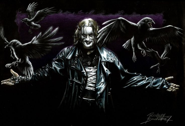 The-Crow crow dark comics movies k wallpaper